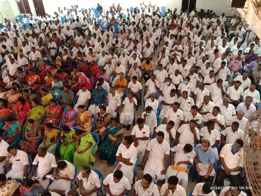 அமமுக மதுரை மாவட்ட தேர்தல் பணிகளுக்கான ஆய்வு கூட்டம்