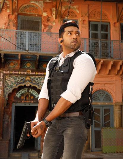 Arun Vijay In Borrder movie stills 2