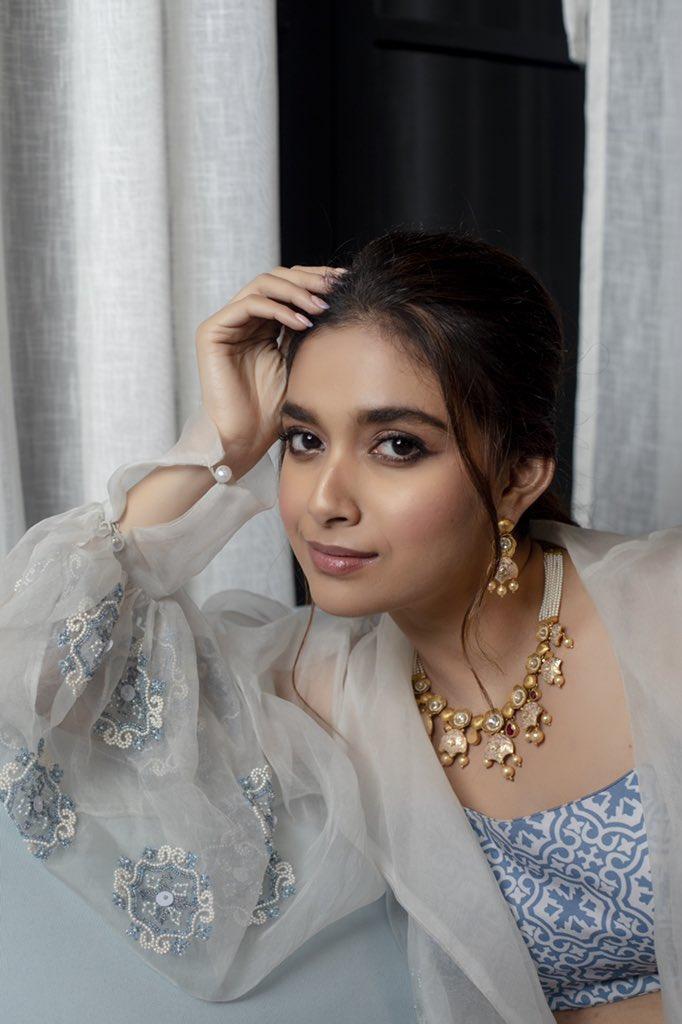 Actress Keerthy Suresh Latest Photo shoot