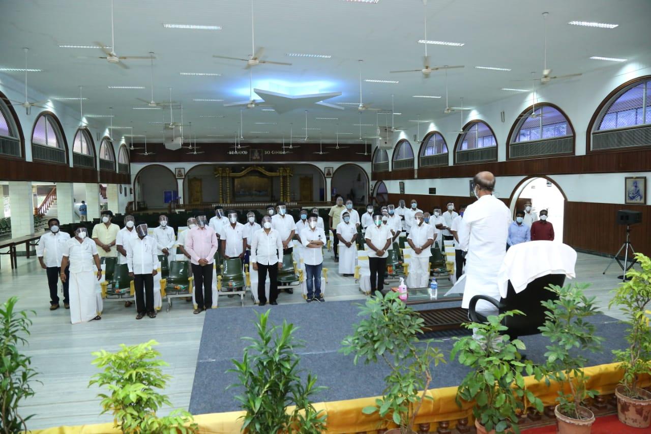 ரஜினிகாந்த் ராசைகர்களுடன் சந்திப்பு ஒரு பார்வை  1